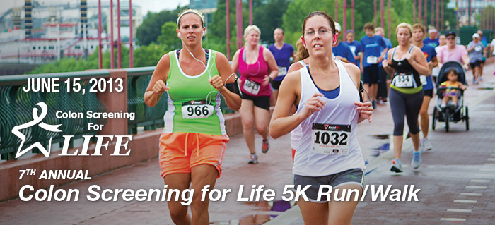 Colon Screening for Life 5K Run/Walk